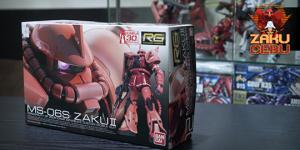 Bandai RG 1/144 #02 MS-06S Char's Zaku II