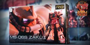 Bandai 1/144 RG MS-06S Char's Zaku II #02