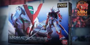 Bandai 1/144 RG #19 Gundam Astray Red Frame