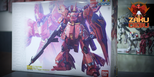 Gunpla Expo 1/100 MG MSN-04 Sazabi Ver Ka (Clear Version)