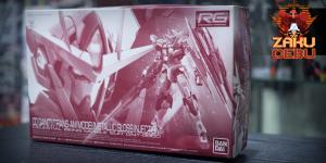 Premium Bandai 1/144 RG 00 Qan[T] (Trans-Am Mode) Gloss Injection Ver.