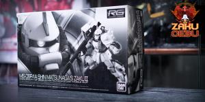 Premium Bandai 1/144 RG MS-06R-1A Shin Matsunaga's Zaku II