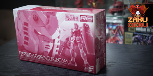 Premium Bandai 1/144 RG RX-78/C.A. Casval's Gundam