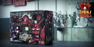 Bandai Super Deformed SD G Generation F Char's 5 in 1 Pack