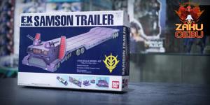Bandai 1/144 HG EX Model #29 Samson Trailer