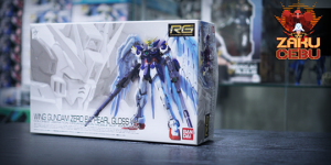 Bandai 1/144 RG Wing Gundam Zero EW Pearl Gloss Ver.