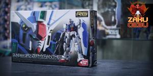 Bandai 1/144 RG #12 Gundam GP01 Zephyranthes