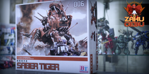 BT 1/72 Zoids – Saber Tiger