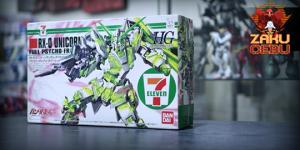 Bandai 1/100 HG UC RX-0 Unicorn Full Psycho Frame (7-Eleven Ver.)
