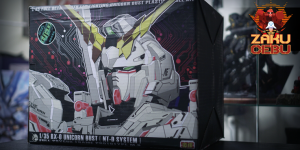 Hui Yi (BSC) 1/35 RX-0 Unicorn Headbust (NT-D System) with LED