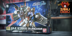 Bandai 1/144 HG SEED Aile Strike Gundam #R01
