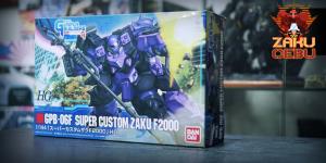 Bandai 1/144 HG GB GPB-06F Super Custom Zaku F2000