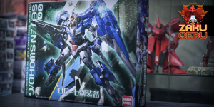 Daban Model 1/100 MG 00 Gundam Seven Swords