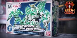 Gundam Base Limited 1/144 HG Unicorn Gundam (Luminous Crystal Body)
