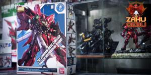 Gundam Base Limited 1/100 MG Sinanju (Mechanical Clear)