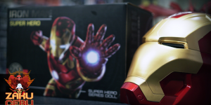 Marvel Super Hero Series BL 1/1 Iron Man Helmet