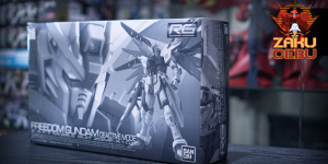 Premium Bandai 1/144 RG Freedom Gundam Deactive Mode