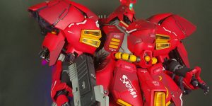 PRE ORDER: UtopiaCast 1/35 Scale Sazabi Full Resin Kit