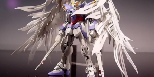 PRE ORDER: GK Hobby 1/100 MG Wing Gundam Feather Effect Resin Conversion Kit (Refined Recast)