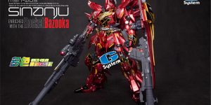 PRE ORDER: G System Best 1/72 Sinanju Full Resin Kit (Original Cast)