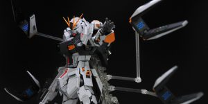 PRE ORDER: Infinite Dimension 1/100 MG Nu Gundam Ver Ka Resin Conversion Kit (Original Cast)