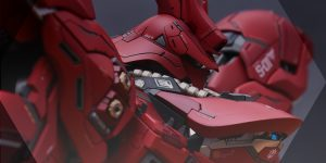 PRE ORDER: AnchoreT Studios x Yujiao Land 1/100 MG Sazabi Ver Ka Resin Conversion Kit (Original Cast)