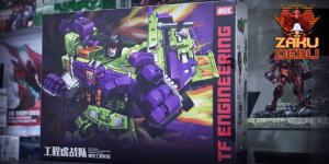 NBK Transformers – Devastator TF Engineering Full Set of 6 (Green Version)