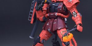 PRE ORDER: Side 3 1/100 MG MS-06S Char's Zaku II Resin Conversion Kit (Original Cast)