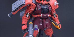 PRE ORDER: GK Hobby 1/100 MG MS-06S Char's Zaku II Ver. Side 3 Resin Conversion Kit (Refined Recast)