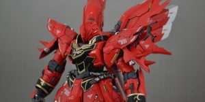 PRE ORDER: Side 3 1/100 MG Sinanju Resin Conversion Kit (Original Cast)
