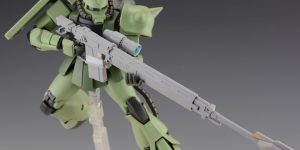 PRE ORDER: Side 3 1/100 MG Zaku II Sniper Rifle Full Resin Kit (Original Cast)