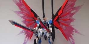 PRE ORDER: Super G 1/100 MG Destiny Special Weapon and Wings of Light Full Resin Kit (Refined Recast)