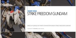 PRE ORDER: Super G 1/100 MG Strike Freedom Ver. MS Build Resin Conversion Kit (Refined Recast)