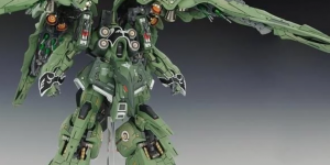 PRE ORDER: UtopiaCast 1/100 MG NZ-666 Kshatriya Ver. Mersa Full Resin Kit (Refined Recast)