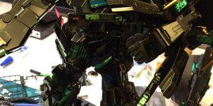 PRE ORDER: Daban Model 1/60 PG Unicorn Gundam Banshee 02 [Black Chrome Electroplated Ver.]