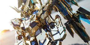 PRE ORDER: Daban Model 1/60 PG Unicorn Gundam Phenex 03 [Electroplated Ver.]