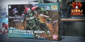Bandai 1/144 HG BD Grimoire Red Beret #003