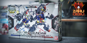 Bandai Super Deformed SD CS RX-78-2 Gundam & Cross Silhouette Frame Set