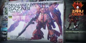 Bandai 1/100 MG MSN-04 Sazabi Ver Ka with Premium Waterslide Decals