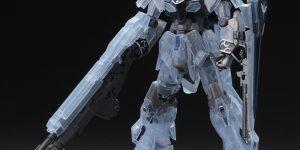 PRE ORDER: Gundam Base Limited 1/144 HG 1/144 Sinanju Stein (Narrative Ver.) [Clear Color]