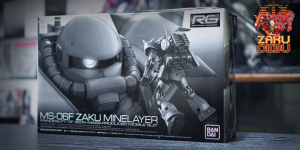 Premium Bandai 1/144 RG MS-06F Zaku Minelayer