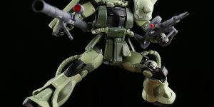 PRE ORDER: Metal Soldier 1/100 MB Metalbuild MS01 MS-06 Zaku II (Green)