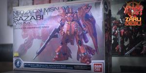 Gundam Base Limited 1/100 MG MSN-04 Sazabi Ver Ka [Special Coating]