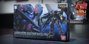 Bandai 1/144 RG Gundam Astray Gold Frame Amatsu Mina #24