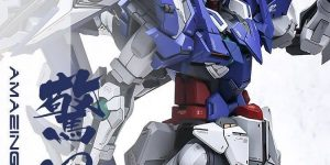 PRE ORDER: AnchoreT Studios x Yujiao Land 1/100 MG Amazing Exia Resin Conversion Kit (Original Cast)