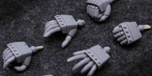 PRE ORDER: AOK Silveroaks 1/100 MG Styling Hands Full Resin Kit Type D (Original Cast)