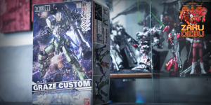 Bandai 1/100 NG IBO EB-06/tc Graze Custom #08