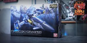 Bandai 1/144 RG FX-550 Skygrasper #06
