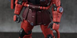 PRE ORDER: Anaheim Factory Models (MC) 1/100 Metalbuild MS-06S Char's Zaku II (Ver. Side 3)
