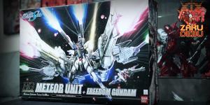 Bandai 1/144 HG METEOR Unit + Freedom Gundam